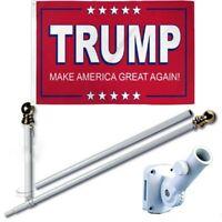 3cm// 1.18-inch Large Caliber White Cast Aluminum Flag Pole Bracket