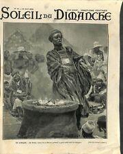 Afrique Bradgi Bradji de retour la Mecque Guerre Sainte Islam ILLUSTRATION 1906
