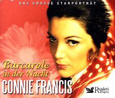 CONNIE FRANCIS - 3 CD - BARCAROLE IN DER NACHT - Reader's Digest  ( Neu )