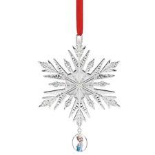 Lenox Disney Showcase Elsa's Snowflake Ornament (Frozen) New 855459