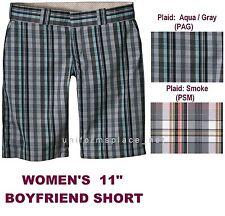"Dickies Shorts Women 11"" Boyfriend Plaid Short Pant FR785"