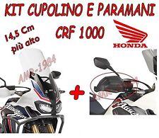 KIT CUPOLINO ALTO + PARAMANI GIVI PER  HONDA CRF 1000 2016 D1144ST  + HP1144