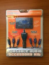 Sonic Impact Portable Audio Accessory Kit Stereo Cable Car Cassette 648027050679