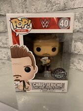 FUNKO POP VINYL WWE CHRIS JERICHO 40 EXCLUSIVE NEW