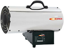 DRAPER Jet Force, Stainless Steel Propane Space Heater -85,000 BTU (25Kw) |17684