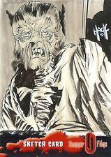 Hammer Horror Series 2 Sketch Card drawn by Robert Hack /10
