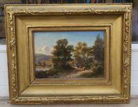 Alfred Steinacker (1838-1914) Reiter am Flussufer, Provenienz Alma Seidler, Wien
