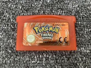 Pokemon Fire Red Cart Only Game Boy Advance GBA 100% Genuine