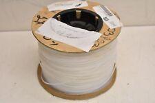 Alpha Wire TFT25018 NA005 Natural Non-Heat Shrinking Teflon Tubing 18AWG 100FT