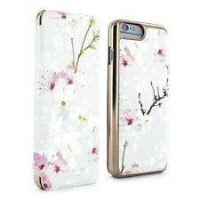Original Ted Baker Espejo Folio Estuche de flores para iPhone 6 Plus/6S Plus Oriental