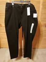 RAFAELLA WEEKEND  WOMEN'S JEANS Size 20W STRETCH SLIMMING  BLACK $72