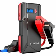SUAOKI P6 800A Peak Car Jump Starter with Dual USB Port Power Bank