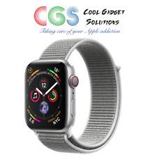 Apple Watch Series 4 44mm Silver Aluminum - Seashell Sport Loop Cellular A2008