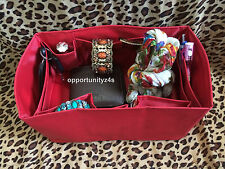 RED BAG ORGANIZER WITH BASE SHAPER INSERT LINER FOR SP 30 SIZE6.5x11.0x5.5 inc 1