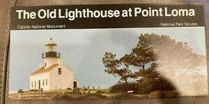 The Old Lighthouse - Cabrillo NM - Official National Park NPS Brochure