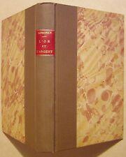SIMONIN L. - L'OR ET L'ARGENT - 1877