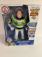 New 12'' Disney-Pixar Toy Story Buzz Lightyear Talking Action Figure Posable!