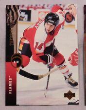 1994-95 Upper Deck Theo Fleury Calgary Flames Hockey Card #315  Hockey Card mint