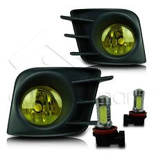 11-13 Scion TC Fog Lights w/Wiring Kit & High Power COB LED Bulbs - Yellow