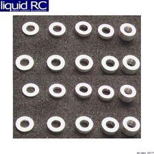 Hot Racing SPC3005 M3 Aluminum Standoff Spacer Set (4x)(0.5-1-1.5-2-3mm)