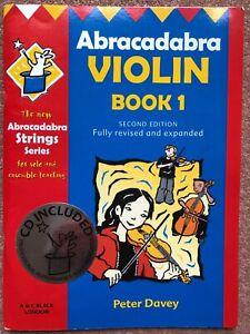 Music book for beginner violin with CD - Abracadabra