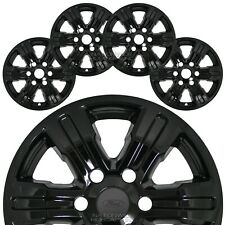 "4 Black 2019 2020 Ford Ranger XLT 17"" Wheel Skins Hub Caps Rim Covers Simulators"