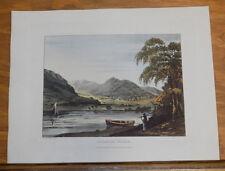 1821 Print, Aquatint Tour of English Lakes///CROMACK WATER