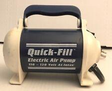 INTEX Quick-Fill Electric Air Pump Model 58619/68619 Quik Fill Camping Mattress