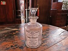 """A VINTAGE LOOK GLASS FRENCH PERFUME BOTTLE, """"ESPRIT VERVEINE"""", LOVELY GIFT"""