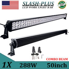 PHILIPS 50INCH 288W LED WORK LIGHT BAR COMBO 4WD FOG TRUCK JEEP SAVE 300W 52/54
