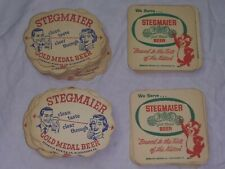 Vintage STEGMAIER Gold Medal Beer Coasters Lot of 50  Wilkes Barre PA