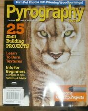 WoodCarving Illustrated magazine Pyrography 2020 25 skill-building projects