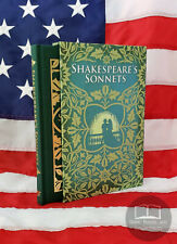NEW Shakespeare's Sonnets by William Shakespeare Slipcase Hardcover Illustrated