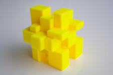 Irregulärer Zauberwürfel GELB - Rubiks Cube Unförmiger Magic Cube Mirror Würfel