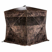 Rhino Blinds R150BC-RTT Bone Collector RealTree Timber 3 Person Hunting Blind
