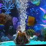 Aquarium Deko Vulkan Luftblase Ausströmer Blaseneffekt Aquarium Verzierung