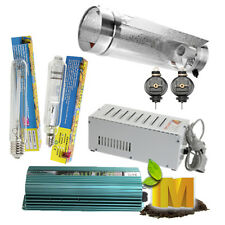 Hydroponics Grow Light Kit Cool Tube Reflector 250-1000w MH HPS Ballast Yoyo Kit
