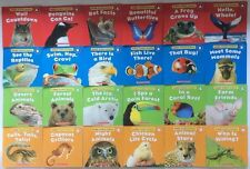 Animals Lot 24 Children's Leveled Learning to Read Science Books Levels A-D NEW