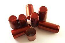 N°100 CAPSULE in PVC TERMORETRAIBILI 31x55 per bordolese rosso rubino