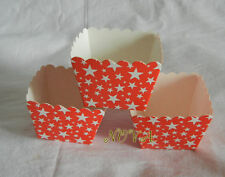 bakeware accessory Red Star paper  square muffin case cupcake liners box 20pcs