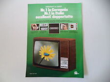 advertising Pubblicità 1975 TELEVISORE GRUNDIG SUPER COLOR 5100