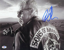 Ron Perlman SIGNED 11x14 Photo Clay Morrow Sons of Anarchy PSA/DNA AUTOGRAPHED