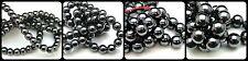 Quality Hematite - Shamballa Round Gemstone Beads 6mm 8mm 10mm Select Size ML