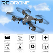 8807W Foldable Mini Wifi FPV 0.3MP HD Camera 2.4G 6-Axis RC Quadcopter Drone Toy