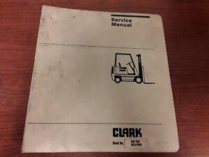 Clark SM522 GCS/GPS  Forklift Service Manual