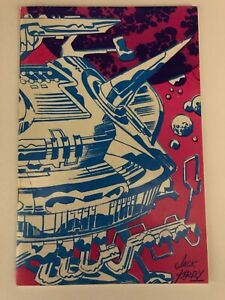 SAN DIEGO SDCC #1 1970  GOLDEN STATE COMIC CON PROGRAM  KIRBY COVER