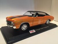 1971 Chevrolet Chevelle SS 454 Coupe- Die Cast Maisto Special Edition 1:18 scale