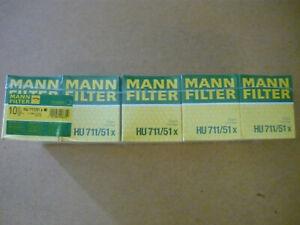 1 Stück MANN Ölfilter HU 711/51x Citroen Ford