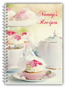 A5 PERSONALISED RECIPE PLANNER, WRITE YOUR OWN RECIPES,HEALTHY RECIPE BOOK,09