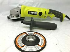 RYOBI AG454 7.5 Amp 4.5 in. Corded Angle Grinder, LN M1